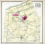 Girard Township, Erie County 1865